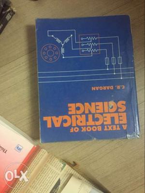 A Text Book Of Electric Science By C.R Dargan Book