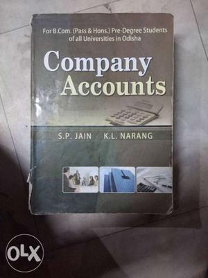Company Accounts Book