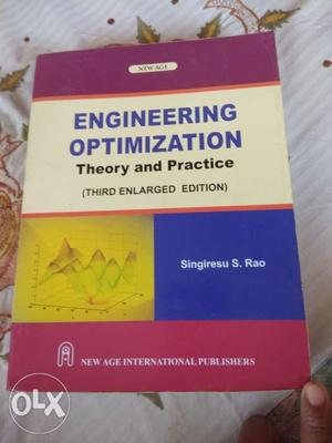 Engineering optimization theory and practice