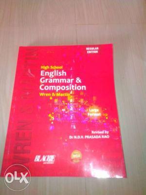 High school english grammar book