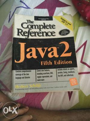Java 2 Fifth Edition Book