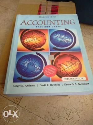 Accounting Robert Anthony David Hawkins Kenneth