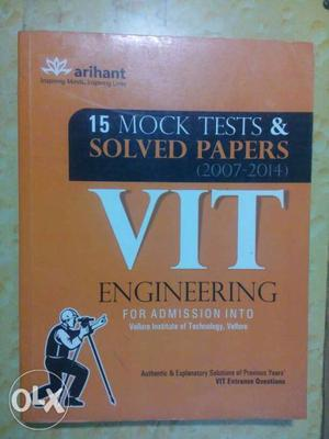 Arihant 15 Mock Tests & Solved Papers VIT Engineering Book