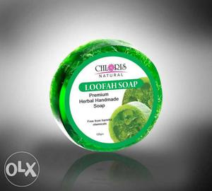 Chloris fruit soap and chloris loofah soap