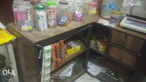 Wooden counter to sale, it can be used for office