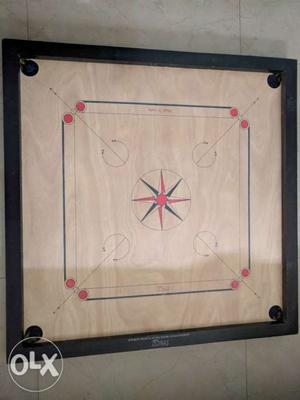 XL Size Carrom Board for Sale In Mint Condition.
