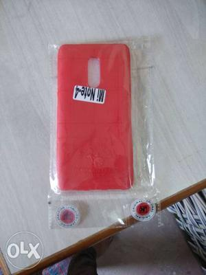It is a Mi note 4 back cover and it is new