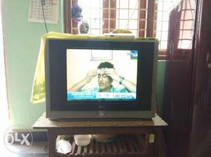 LG 21 inch XD Picture TV with inbuilt Woofer.