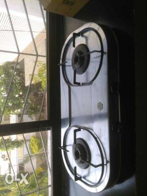 Two burner stainless steel gas shegadi company