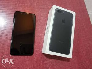 Iphone 7 plus 32gb Black Colour 1yr old with bill