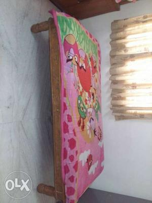 Single cot with mattress