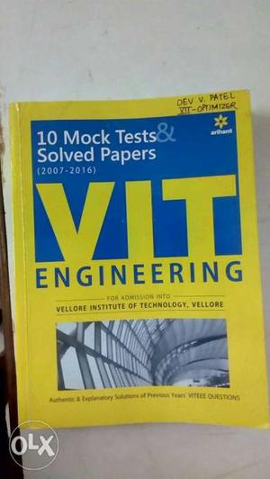 10 Mock Test & Solved Papers Book