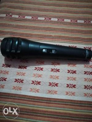 Black Philips Microphone