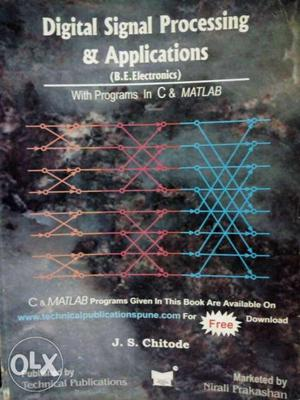 Digital Signal Processing & Applications By J.S. Chitode