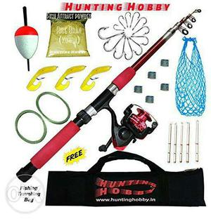 Fishing Rod Reel Accessories Complete Combo