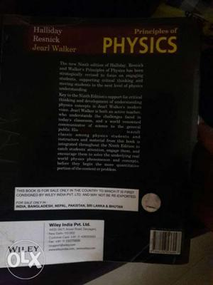 Principles Of Physics Learning Book