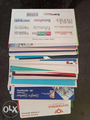 We have  of visiting card from all over India