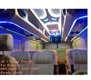 17 Seater Tempo traveller for rent in cochin
