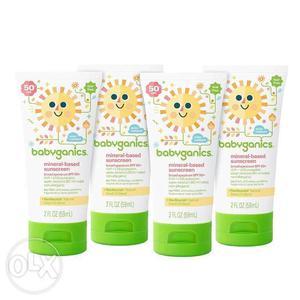 Babyganics Mineral-Based Baby Sunscreen Lotion, SPF 50 Tube,
