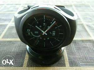 Samsung Gear S 2 smart watch with wireless dock charging
