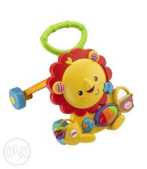 Musical Walker Lion from Fisher Price