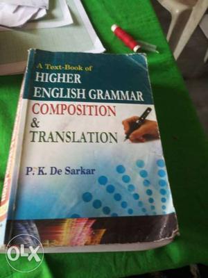 A Text-Book Of Higher English Grammar Composition &
