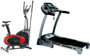 Treadmills & Fitness Weight loss Cycles available for home
