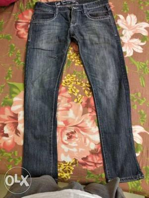 2 New Jeans Levis and Cotton county. waist 34