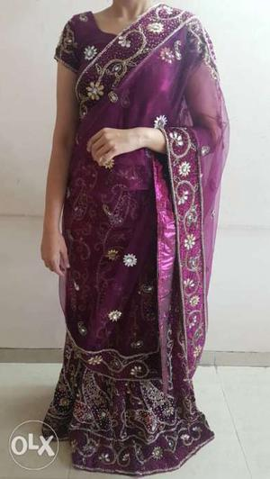 A gorgeous Designer lehenga up for sale.