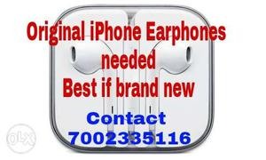 I need it Contact on