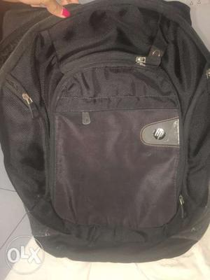 Original HP laptop bag..Jet black colour..Worth