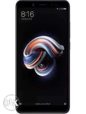Redmi Note 5 Pro 4gb and 64gb Black And Gold new