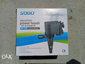 Aquarium filter power head for both (top and down)