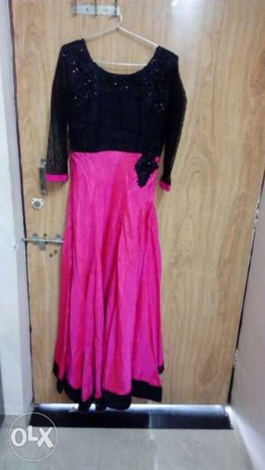 Party wear evening gown - used