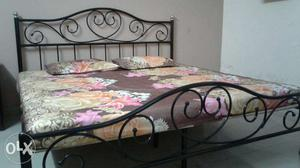 Brand New Condition Wrought Iron Double Bed for immediate