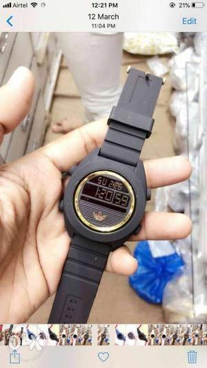 Digital Watch... Alarm, Stop Watch, Date, Day,