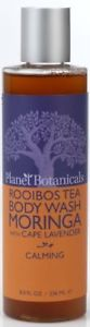 Planet Botanicals Rooibos Tea Body Wash, Moringa With Cape