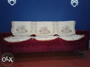 3+1+1 Sitter Royal Sofa Set with cover...very