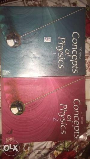 Concept Of Physics 1 And 2 Books