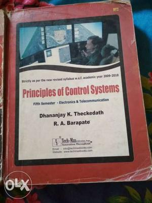 Control systems Book in good condition