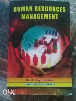 Human Resources Management By Dr. J. Jayasankar Book