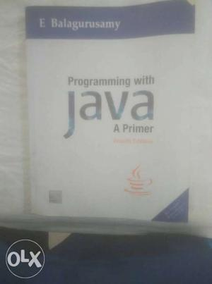 Java programming book for beginners by E