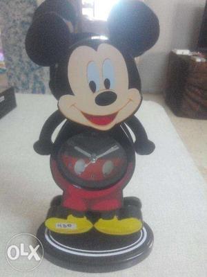 Mickey mouse pendulum alarm clock for sale