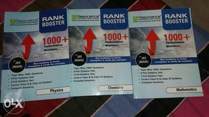 Three Rank Booster Textbooks.