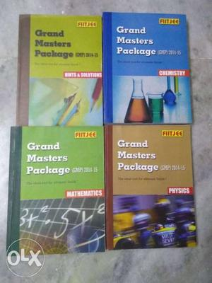 FIITJEE Grand Masters Package (For JEE Mains and Advance)