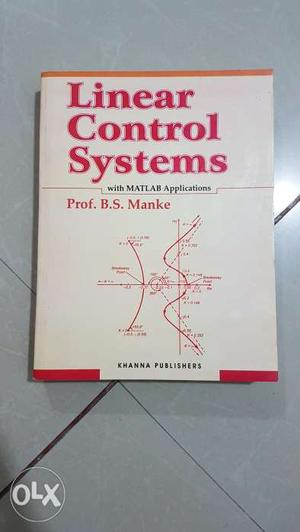 'Linear Control Systems' book.. Totally in new