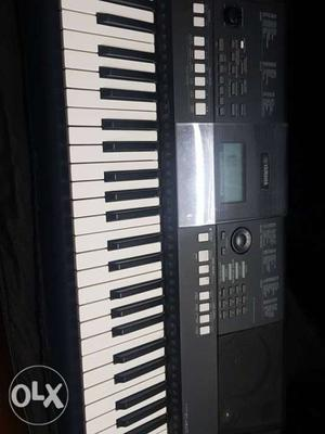 New yamaha casio all new only 1 year old...
