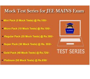 Online Test Series for JEE Main Exam New Delhi