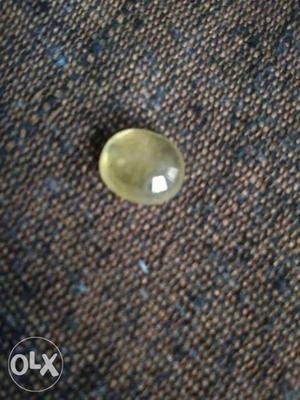 Round Clear Stone Fragment