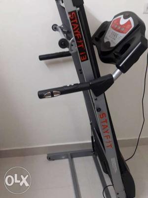 Unused treadmill machine
